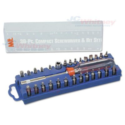 Michigan Industrial Tools Glove Box Screwdriver Bit Set   30 Piece Set